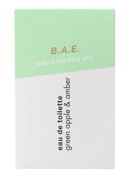 B.A.E. eau de toilette green apple and amber 50ml - 17730004 - HEMA