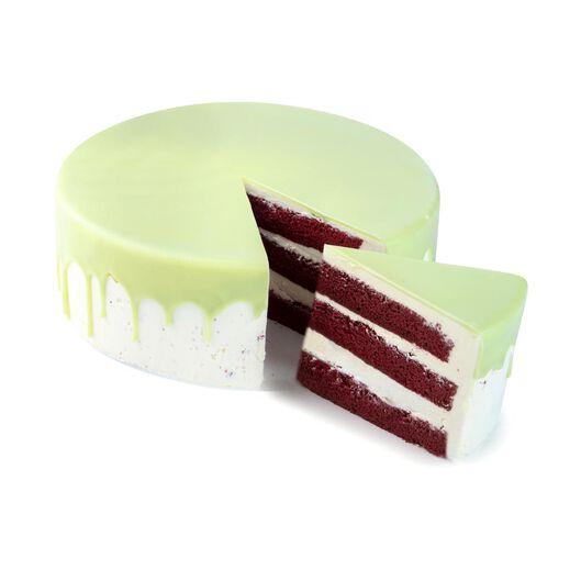 dripcake red velvet groen 24 p. - 6330048 - HEMA