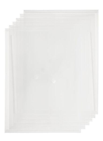 6-pak envelopmappen - 14822235 - HEMA