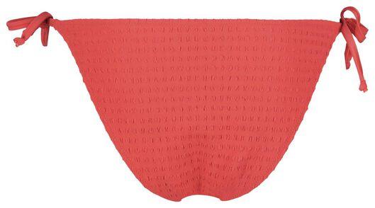 dames bikinislip rood L - 22311624 - HEMA