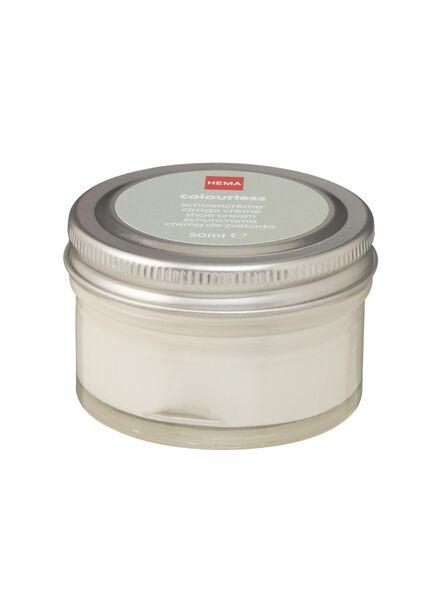schoencrème kleurloos - 20500081 - HEMA