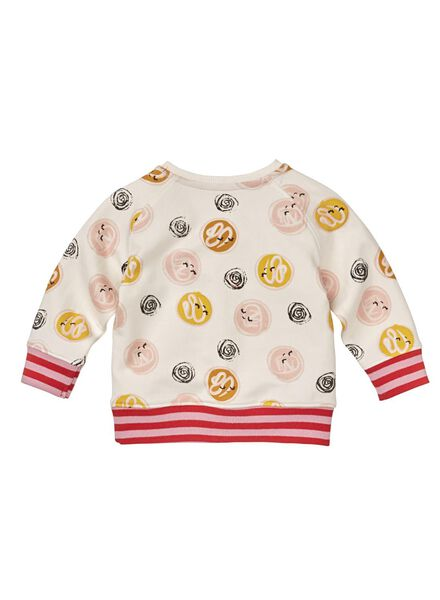baby sweater gebroken wit - 1000008690 - HEMA