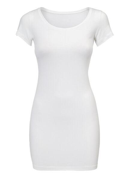 dames t-shirt wit wit - 1000005124 - HEMA