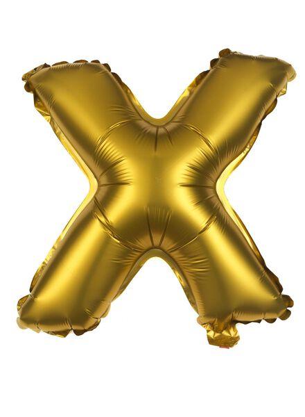 foil ballon X - 60810170 - HEMA