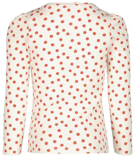 kinder t-shirt rib rood rood - 1000020620 - HEMA