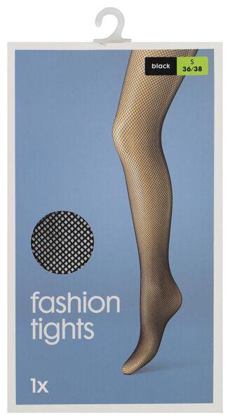 panty fashion zwart zwart - 1000000916 - HEMA
