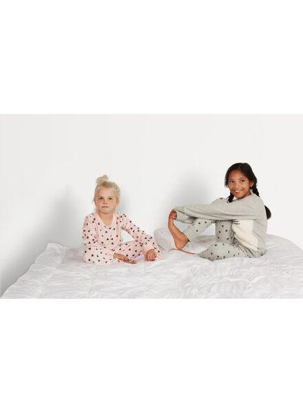 kinderpyjama lichtroze lichtroze - 1000009940 - HEMA