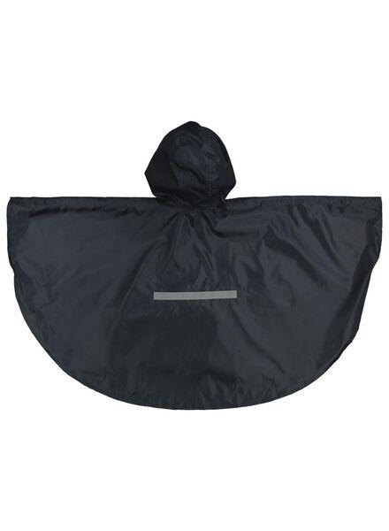 regenponcho voor kinderen donkerblauw donkerblauw - 1000014935 - HEMA