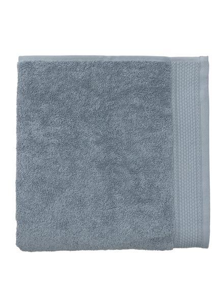 handdoek - 60 x 110 cm - hotel extra zwaar - ijsblauw ijsblauw handdoek 60 x 110 - 5220048 - HEMA