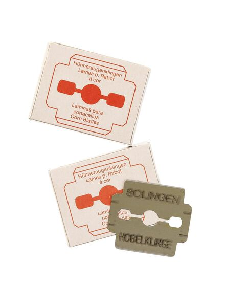 eeltschaafmesjes 2 x 10 stuks - 11911309 - HEMA