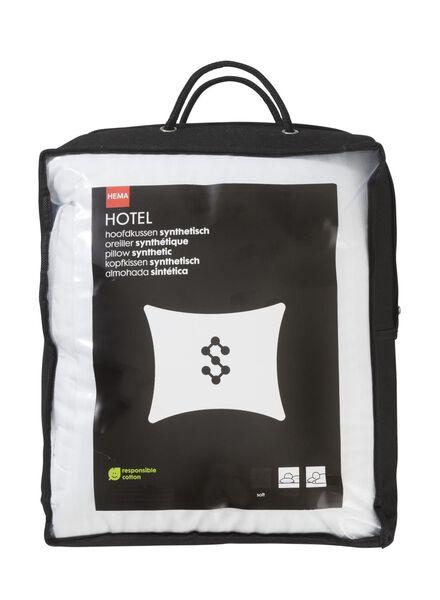 hoofdkussen - synthetisch luxe - zacht - buik- en rugslaper - 5511708 - HEMA