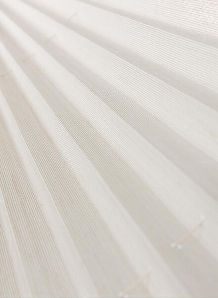 plisségordijn structuur transparant 20 mm - 7430044 - HEMA
