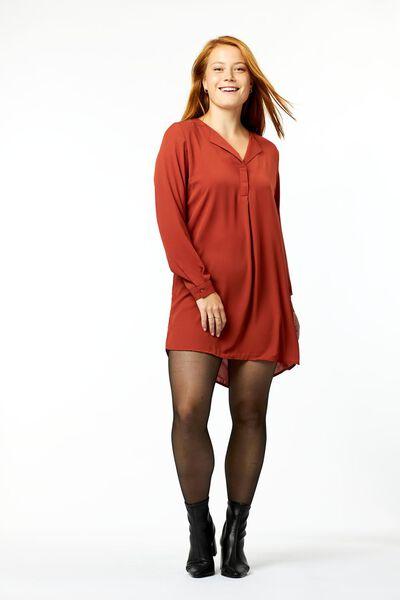 damestuniek rood L - 36340773 - HEMA