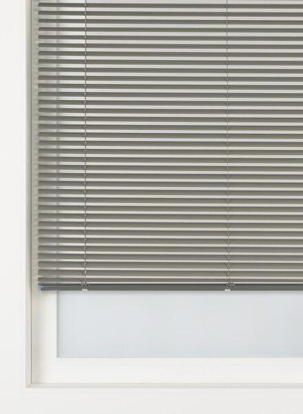 jaloezie aluminium zijdeglans 25 mm - 7420019 - HEMA