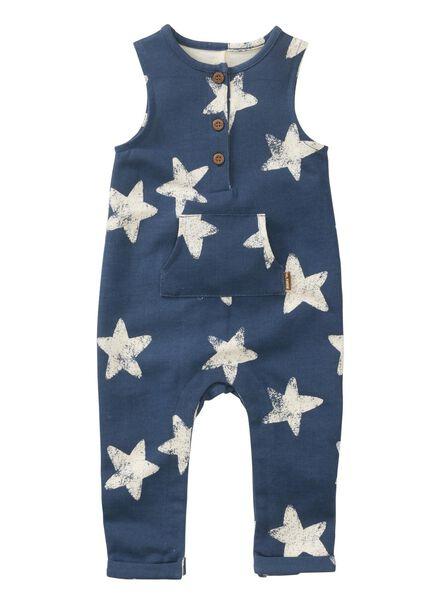 baby jumpsuit blauw blauw - 1000011969 - HEMA
