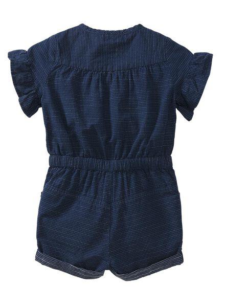 baby jumpsuit blauw - 1000007296 - HEMA