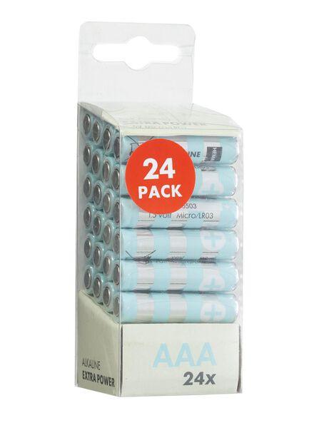 24-pak AAA batterijen - 41210526 - HEMA