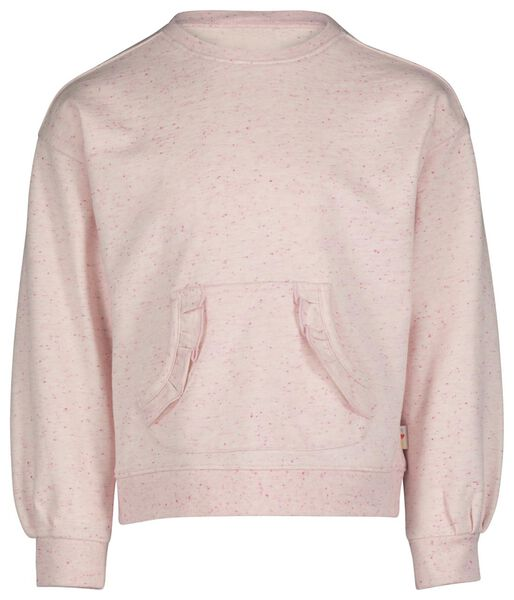 kindersweater koraal koraal - 1000017775 - HEMA
