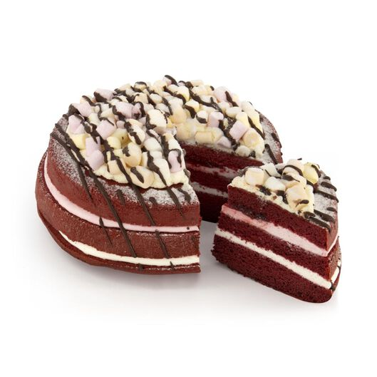 marshmallowtaart red velvet 8 p . - 6344943 - HEMA