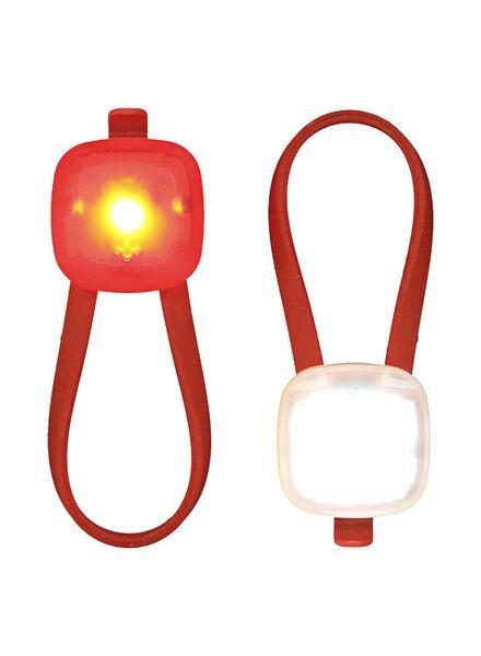 LED fietslampjes - 2 stuks - 41198126 - HEMA