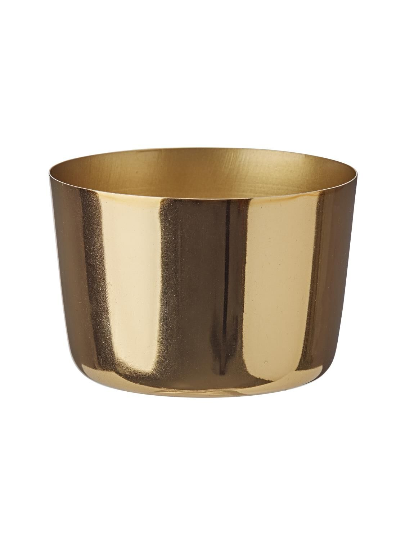 HEMA Sfeerlichthouder 5.6 X Ø 8 Cm Goud (goud)