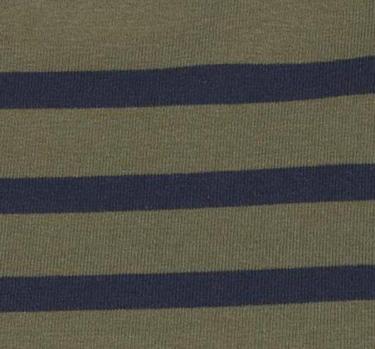 dames t-shirt boothals olijf S - 36329830 - HEMA