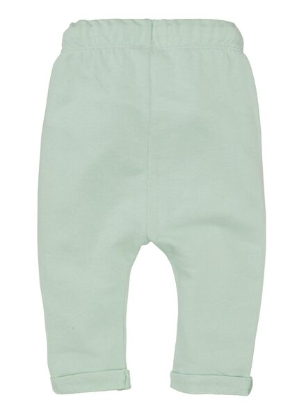 baby sweatbroek felgroen felgroen - 1000011369 - HEMA