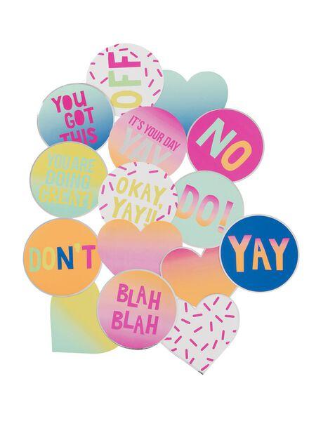 XL stickers - 14588164 - HEMA