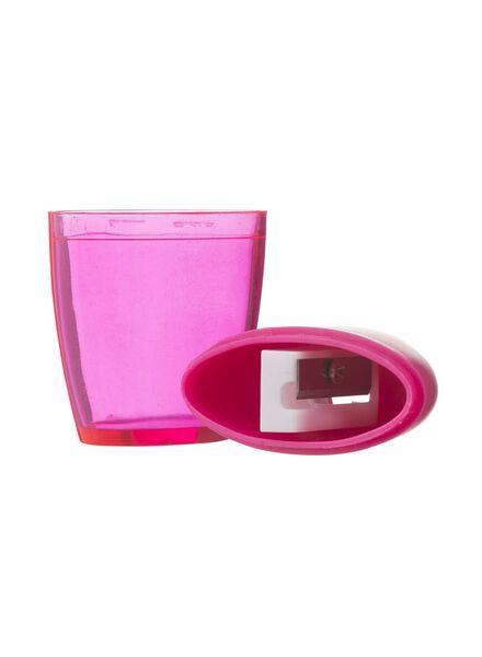 puntenslijper met opvangreservoir - roze - 14522411 - HEMA