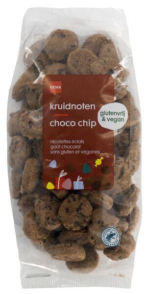kruidnoten glutenvrij choco chips 200gram - 10904096 - HEMA