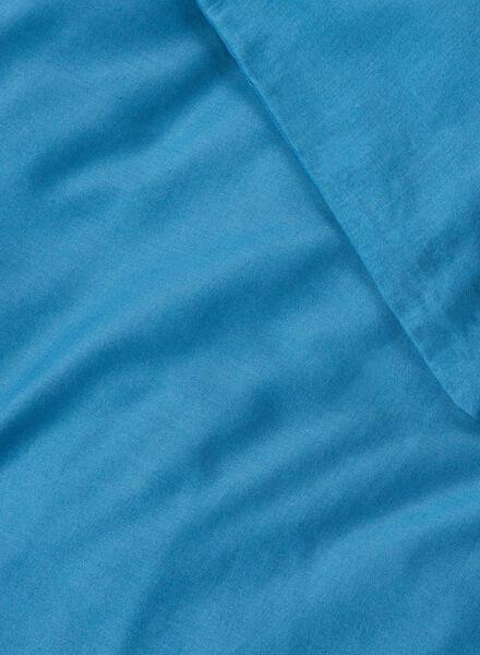 dekbedovertrek - zacht katoen - uni donkerdenim donkerdenim - 1000014133 - HEMA