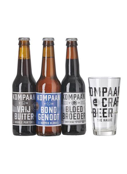 cadeauset kompaan speciaalbier - 17400035 - HEMA