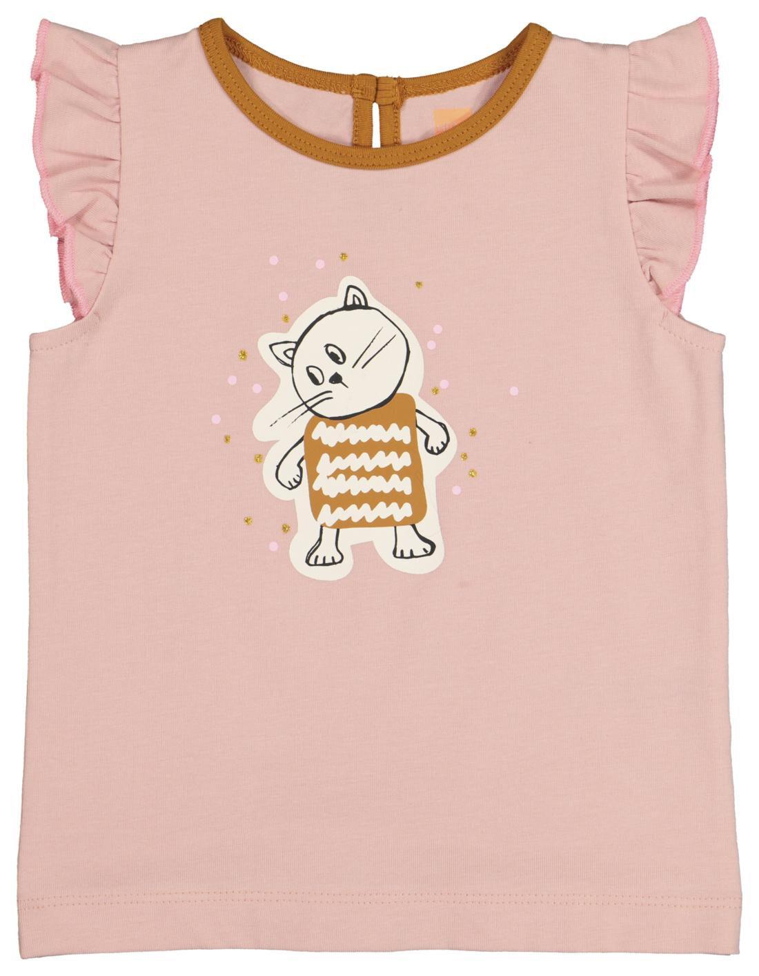 HEMA Baby T-shirt Lichtroze (lichtroze)