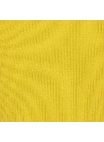 kinder t-shirt geel geel - 1000014878 - HEMA
