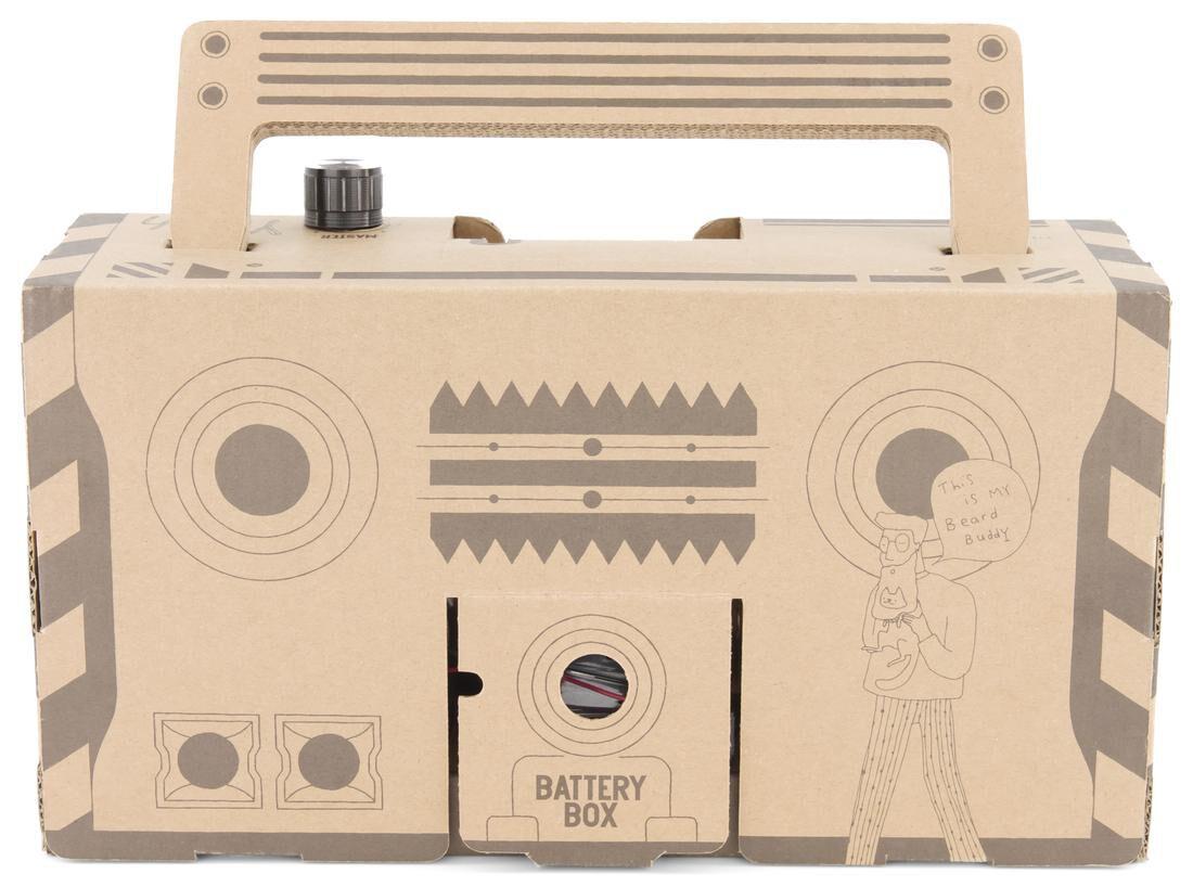 HEMA Kartonnen Boombox 9x29x15.5