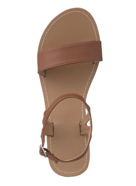 dames sandalen bruin bruin - 1000013315 - HEMA