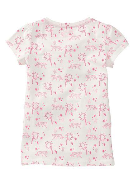 kinder t-shirt gebroken wit - 1000006681 - HEMA