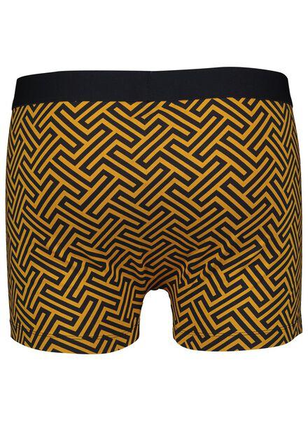 herenboxer kort geel geel - 1000014414 - HEMA
