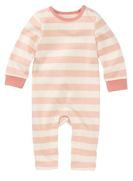 newborn baby jumpsuit roze - 1000011144 - HEMA