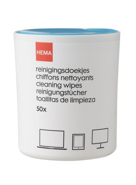 50-pak reinigingsdoekjes - 39607076 - HEMA