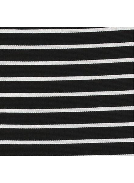damesrok zwart/wit zwart/wit - 1000008734 - HEMA