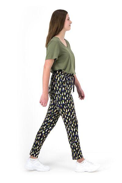 dames t-shirt met bamboe olijf olijf - 1000019194 - HEMA