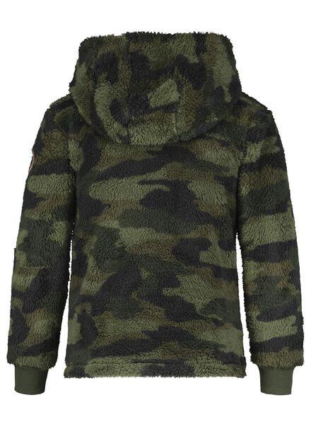 kinder capuchonsweater groen groen - 1000016684 - HEMA