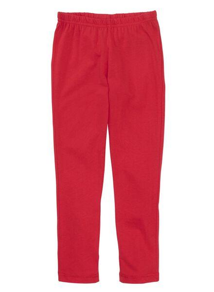 kinderpyjama rood rood - 1000012218 - HEMA