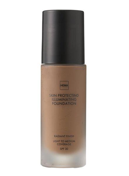 skin protecting illuminating foundation Dark 03 - 11292203 - HEMA