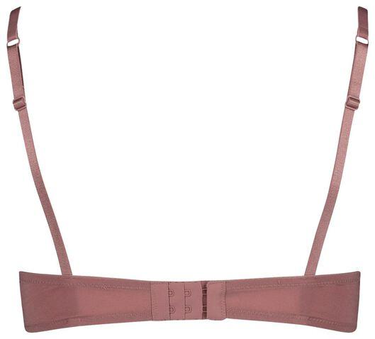 padded t-shirt bh kant roze roze - 1000018618 - HEMA