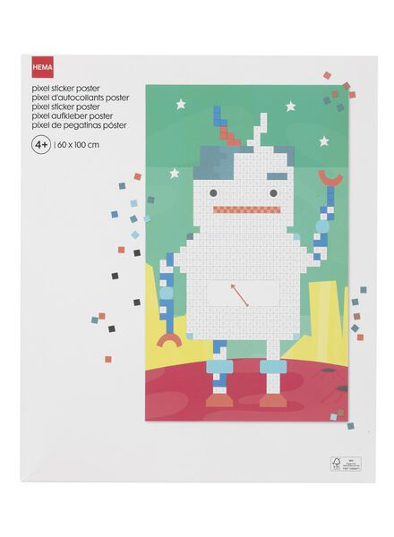pixel sticker poster - 15920153 - HEMA