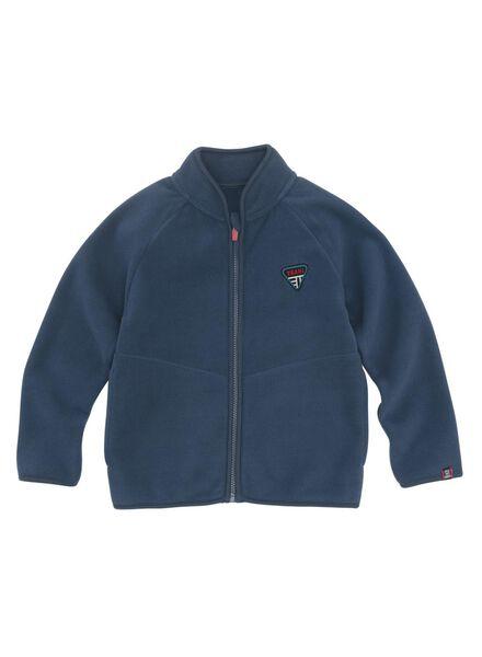 kindervest donkerblauw donkerblauw - 1000011187 - HEMA