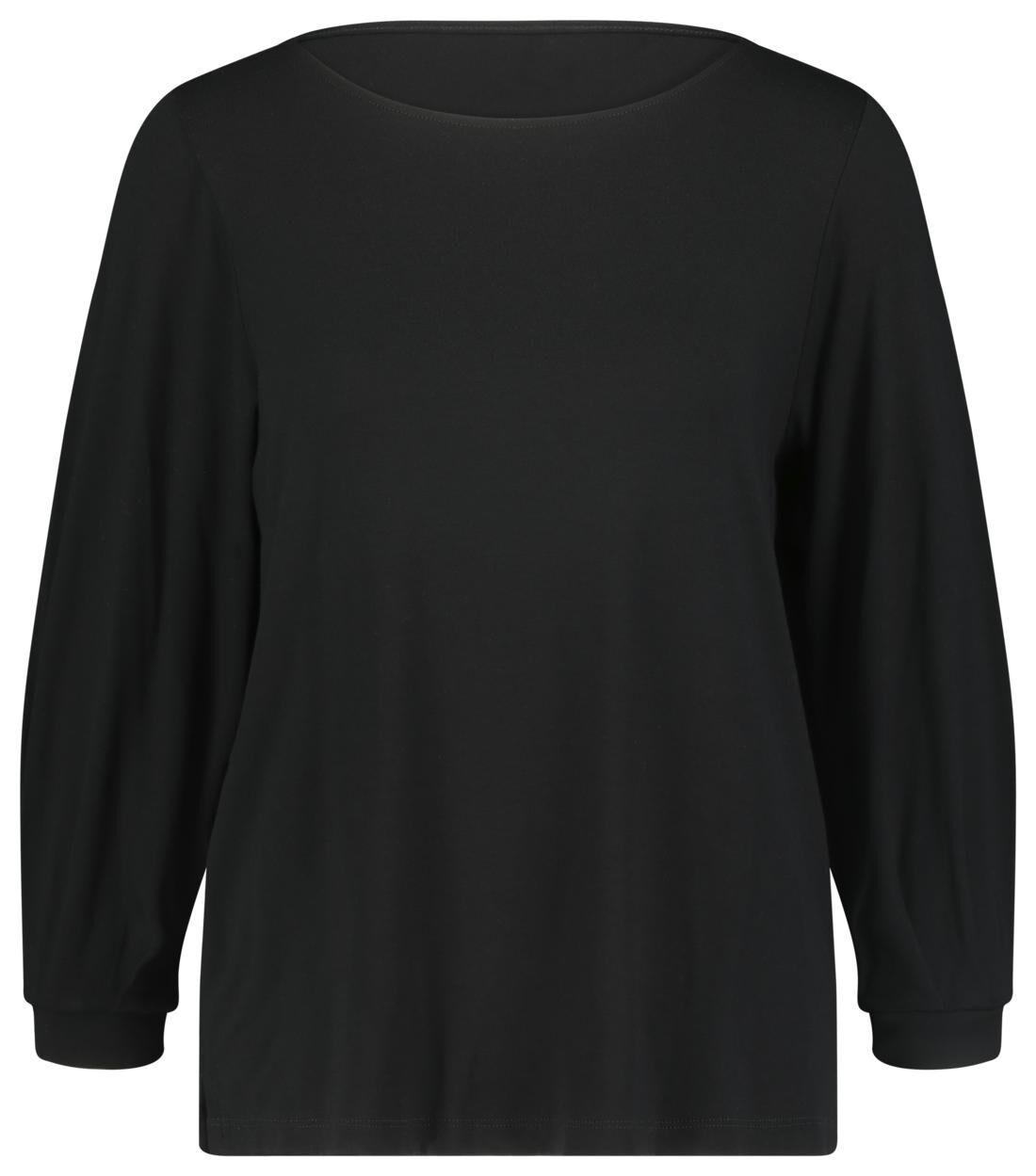 HEMA Dames T-shirt Zwart (zwart)