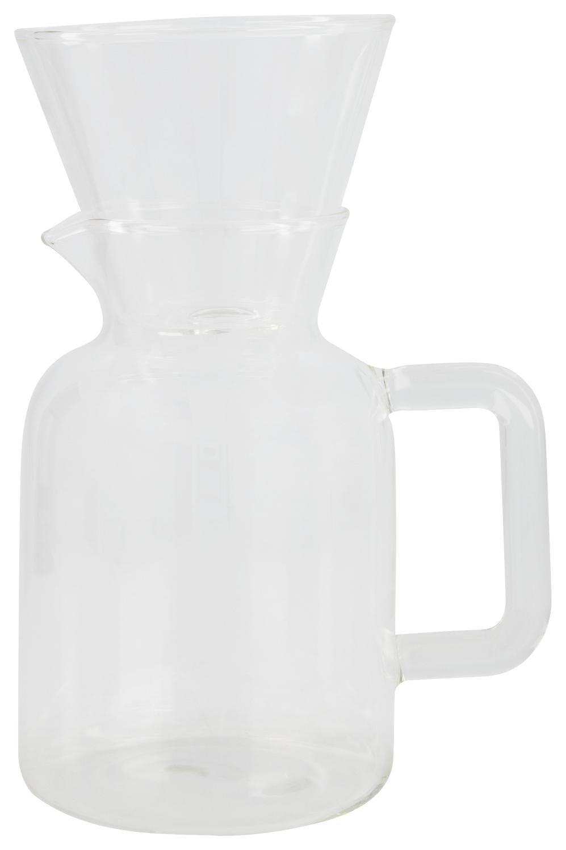 HEMA Koffiekan Met Filter Koffiebinkie Glas 600ml